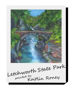 Letchworth State Park Polaroid-01